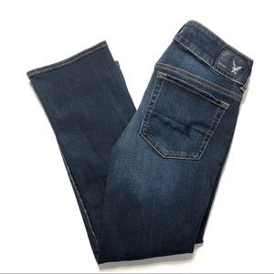 American Eagle Artist Crop Jeans Sz 2